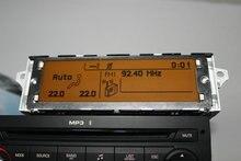 Soporte de pantalla USB y Bluetooth monitor de Pantalla amarilla 12 pin para Peugeot 307 407 408 citroen C4 C5
