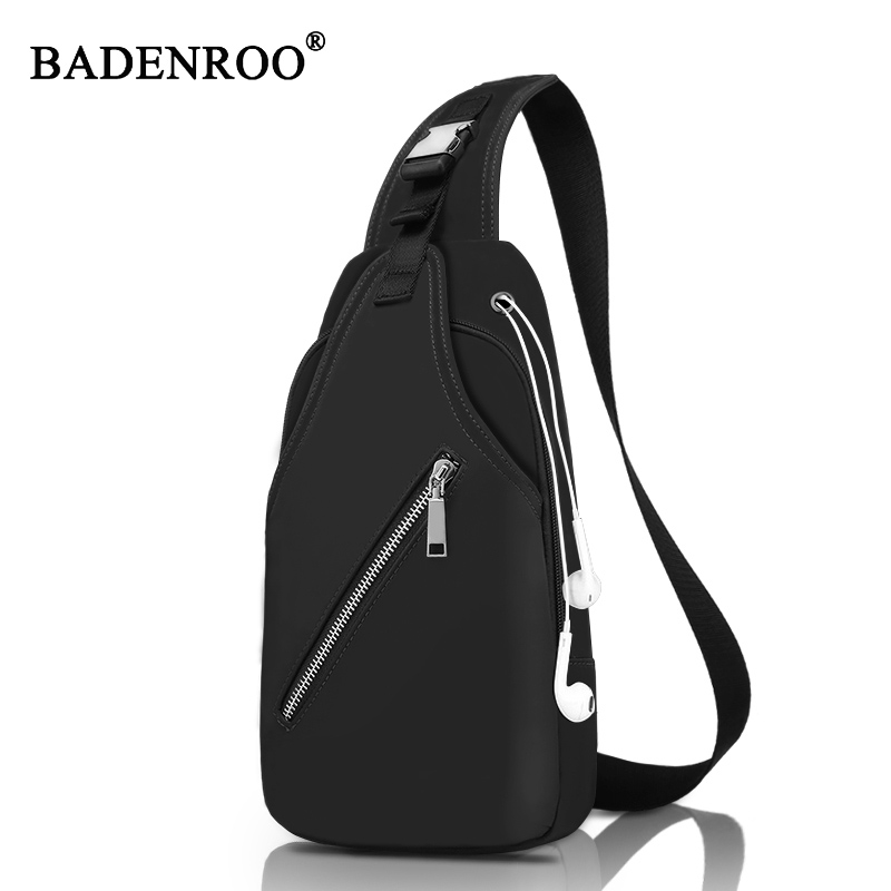 New Chest Pack Sling Bag  Men Messenger Bags Casual Travel  Male Small Retro fashion Shoulder Portable Bag 2018 Casual Male Bag fashion vintage men messenger bags chest pack travel male genuine leather casual chest small retro shoulder bag coffee md l096