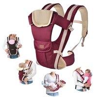 2-30 meses do bebê portador de bebê multifuncional frente virada baby carrier infantil bebe canguru mochila sling pouch envoltório de alta qualidade