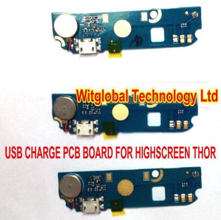 USB Charging Dock PCB For Highscreen Thor Mainboard Micro USB connector Parts Buzzer Replacement Free Ship usb charge dock sub pcb s010 sub