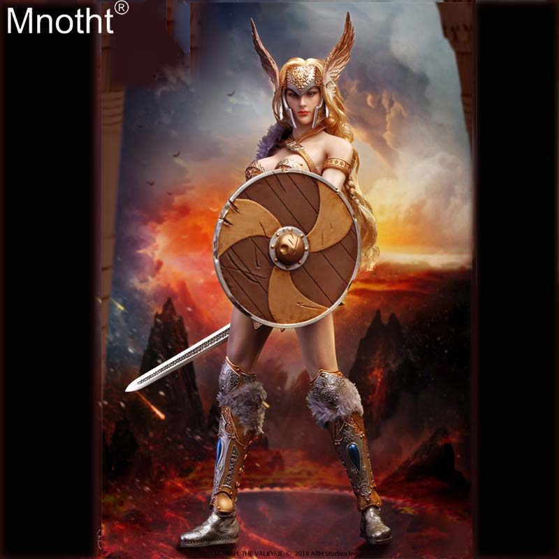 Mnotht PL2018 116 1/6 Norway SKARAH Sexy Goddess of War Armor Suit Female Clothes Model Toy for 12in Soldier Action Figure m3n