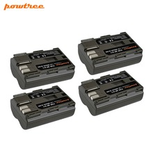 Powtree For Canon 4PCS 7.2V 2800mAh BP511A BP-511 BP 511 BP511 Digital Camera Battery 300D 5D 10D 20D 30D 40D 50D G6 90IS