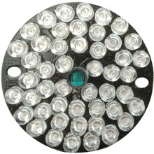 48 LED IR Board 850nm Infrared Illuminator Plate For Dome CCTV Security Camera customized angle optional