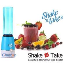 Wholesale Hot Shake n Take 3 generation portable mini juicer Blue/Pink/Purple/Green Color FREE SHIPPING