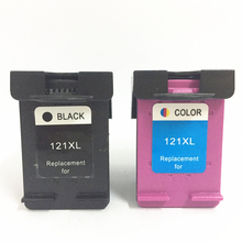 Vilaxh 2pcs For HP 121 compatible Ink Cartridge Replacement for hp121 121xl Deskjet F2423 F2483 F2493 F4213 F4275 F4283 F4583