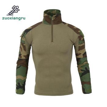 a273462ae7c Product Offer. Zuoxiangru куртка в стиле милитари армейские рубашки  камуфляж охота на открытом воздухе походный Кемпинг быстросохнущая ...