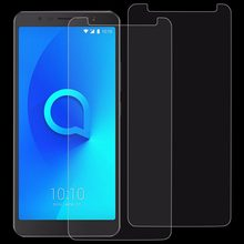 2 PCS / 1 Piece 0.26mm 9H 2.5D Tempered Glass Film for Alcatel 3C Screen Protector(China)