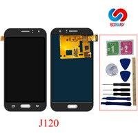 For Samsung Galaxy J1 2016 J120 J120A J120F J120H J120M J120FN Touch Screen Digitizer Sensor LCD Display Panel Monitor Assembly