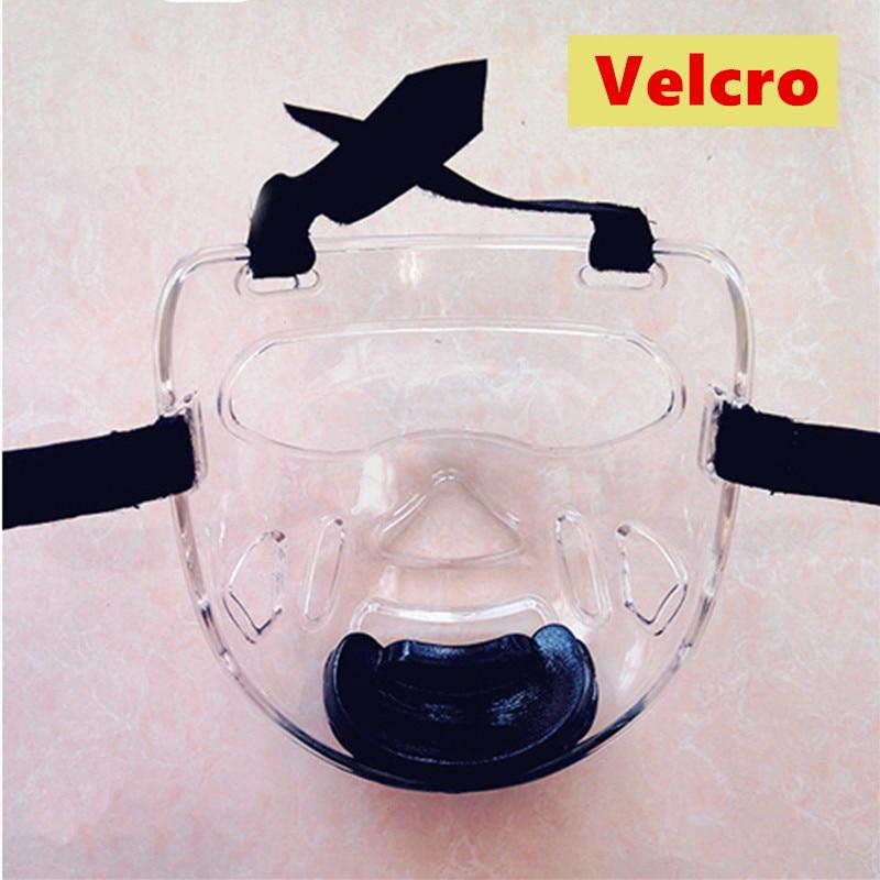 Дешевые Новые ПУ карате шлем с пластиковой маска съемный шлем тхэквондо Головные уборы маска ТКД фитнес защита для детей и взрослых