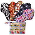 Comfortable Soft Cloth Menstrual Pad Washable Night Use Minky Sanitary Napkin Pads