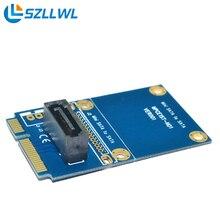 Riser card материнская плата mini pcie MSATA для SATA 7PIN SATA PCI E SSD твердотельный Жесткий Диск Delock Конвертер