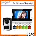 IP55 водонепроницаемый наружный блок проводной дверной звонок системы hands free видео-телефон двери с ИК ночного видения видео домофон