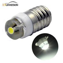 1PCS E10 LED Upgrade Bulb 0.5W Emergency Light Bulbs led 3000K 6000K 3V 4.5V 6V 12V 18V Led Signal lamp Warning light