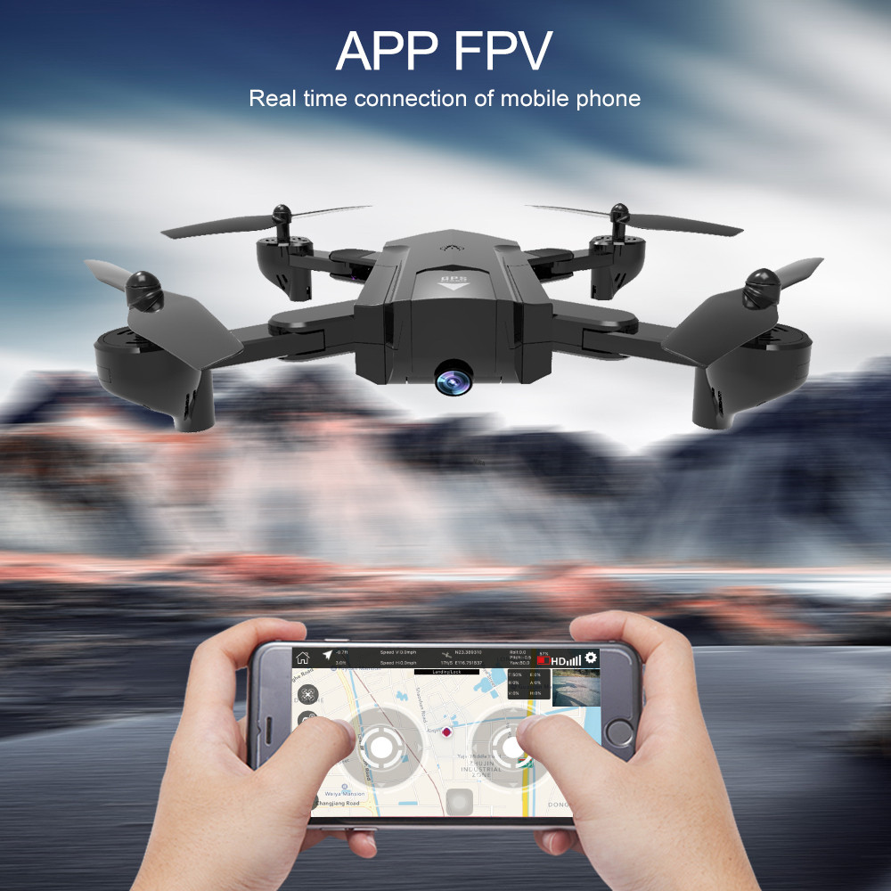 Global Drone Foldable GPS Follow Drone with Camera Full HD RC Quadcopter Profissional FPV Drones Quadrocopter VS VISUO XS812 5