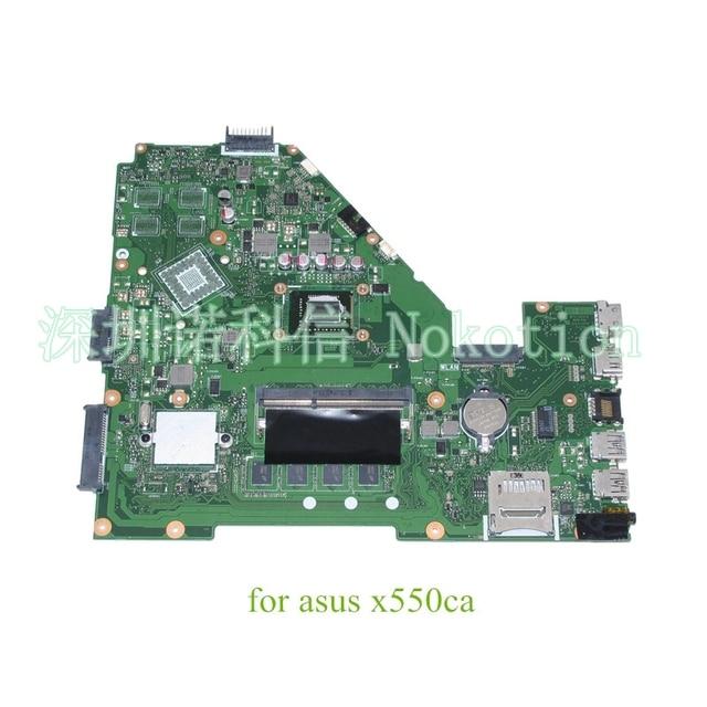 Para asus x550cc x550ca placa principal motherboard laptop hd4000 sr0u3 i3-2365m ddr3 garantia 60 dias