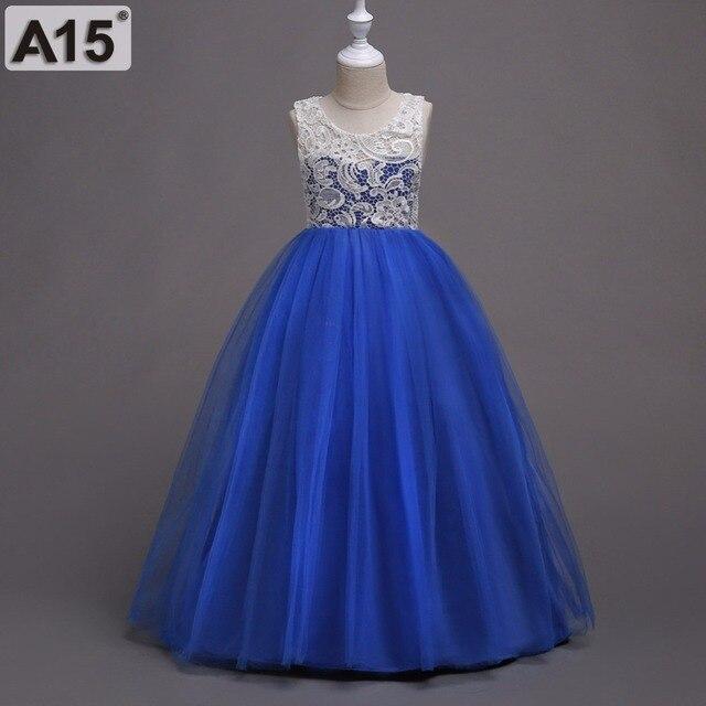fce108be51ec A15 Girls Wedding Party Flower Girl Dress Bridesmaid Clothes ...