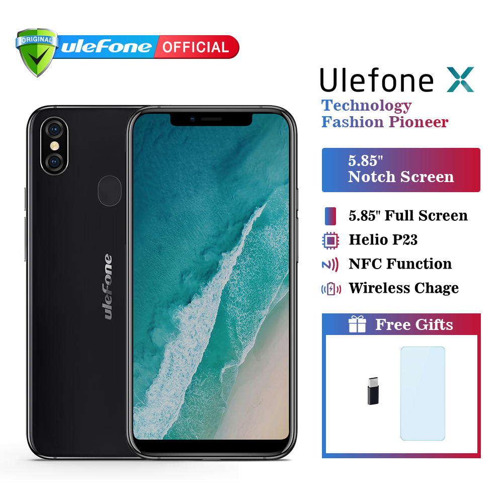 Téléphone portable Ulefone X Android 8.1 5.85