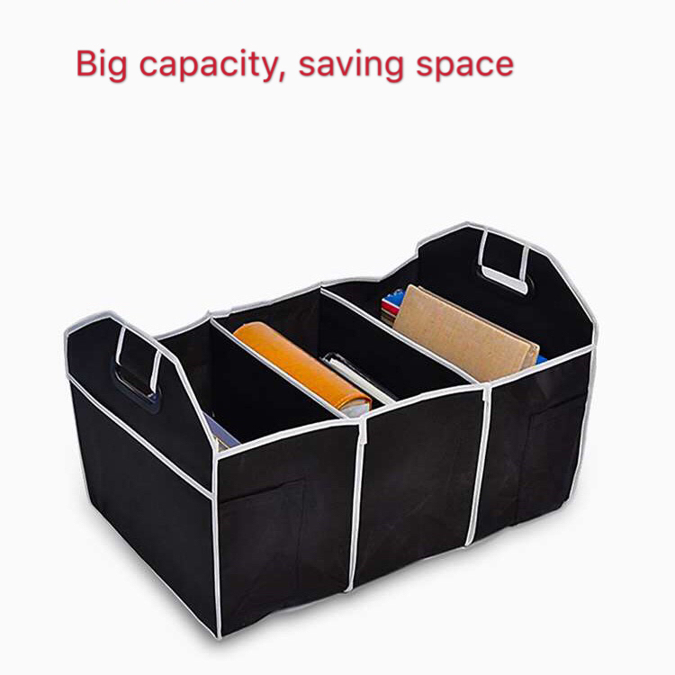 Interior Accessories Vehemo Collapsible Car Trunk Organizer Toys Food Storage Truck Cargo Container Bags Box Car Stowing Styling Auto Accessories Automobiles & Motorcycles