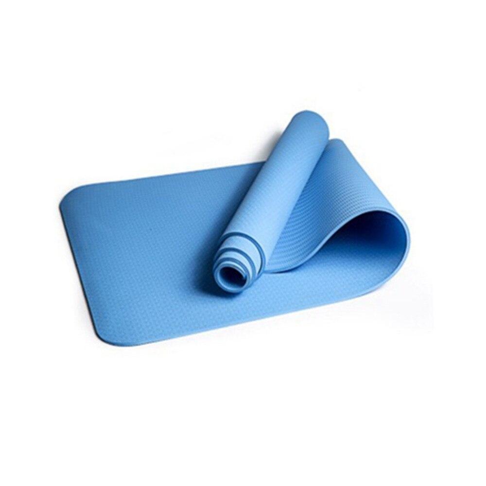 6 MM TPE Yoga anti-dérapant Tapis de Yoga Pour Fitness Mince Yoga Gym Exercice Tapis Insipide environnement Pad Tapis de Fitness Sport 8 Couleurs