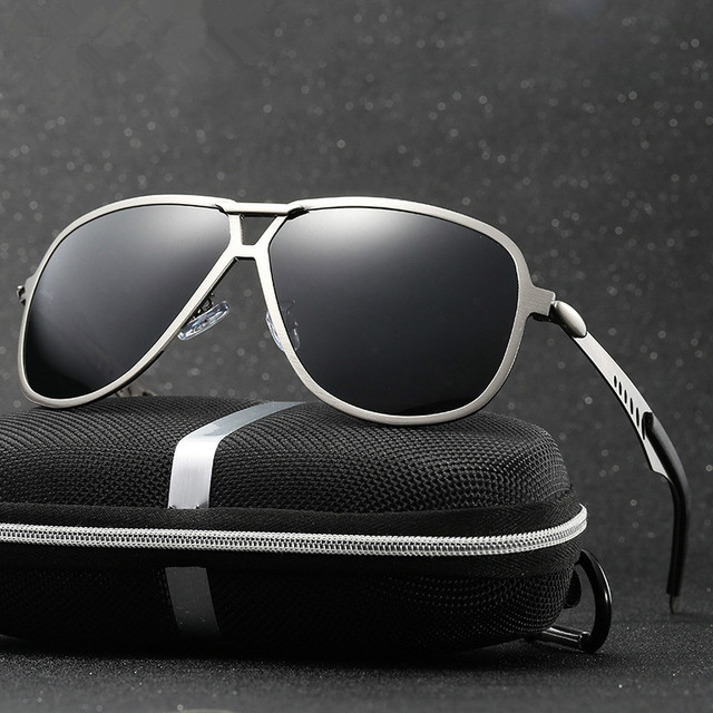 43f68ef36 HONGTENG Brand Best Men's Sunglasses Polarized Mirror Lens Big Oversize  Eyewear Accessories Sun Glasses For Men/Women
