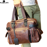 Men S Real Crazy Horse Leather Travel Bags Luxury Style Men S Messenger Bag Retro Large