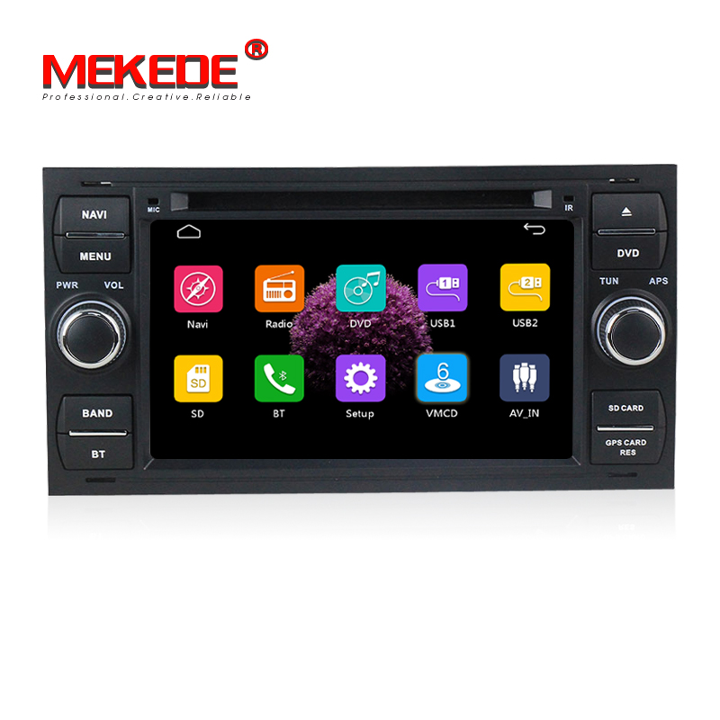 Capacitive screen Car Radio DVD GPS player For ford C-Max Connect Fiesta Fusion Galaxy Kuga Mondeo S-Max Focus with radio BT