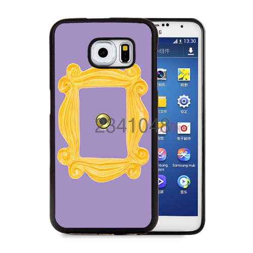 monicas peephole door frame friends tv show sitcom soft edge cellphone cases for samsung s3 s4