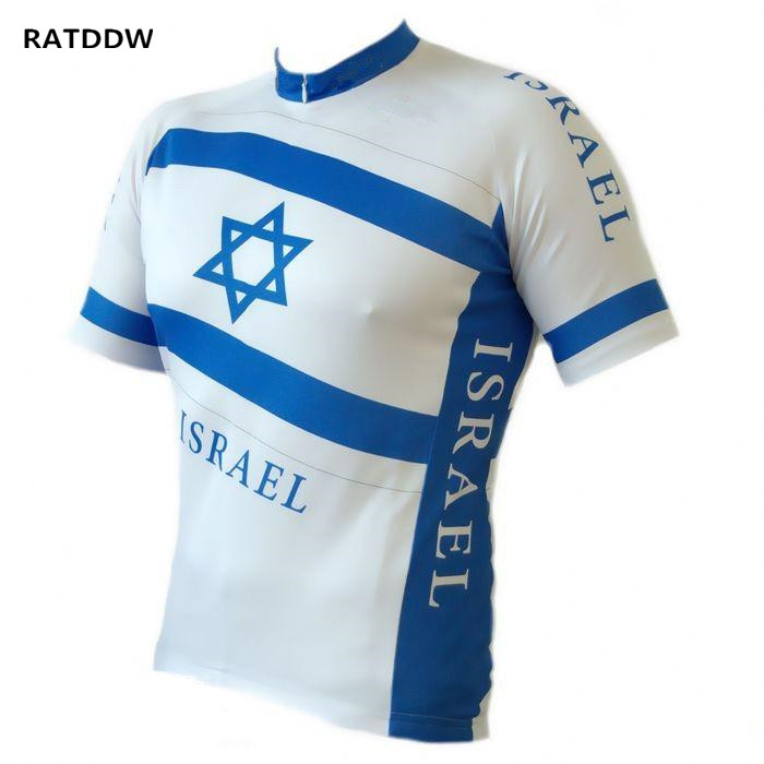 Israel Outdoor Sports Cycling Jersey Summer Bike Bicycle Short Sleeves Jerseys MTB Clothing Shirts Bike Jersey 2016 women cycling jersey shorts green cats mtb bike jersey sets pro clothing girl top short sleeve bike wear bicycle shirts