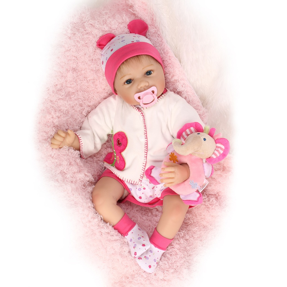 Здесь продается  reborn baby doll silicone vinyl soft real touch 55cm with soft mohair lifelike newborn baby Christmas Gift baby alive  Игрушки и Хобби