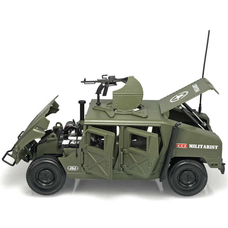 1:18 military model Hummer warships off-road vehicle metal simulation genuine children car model салфетки для стекол hi gear hg 5606n
