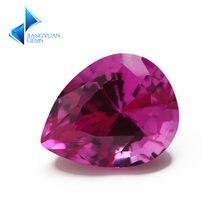 Размер 3x5 ~ 10x12 мм Груша 3 # розовый камень синтетические