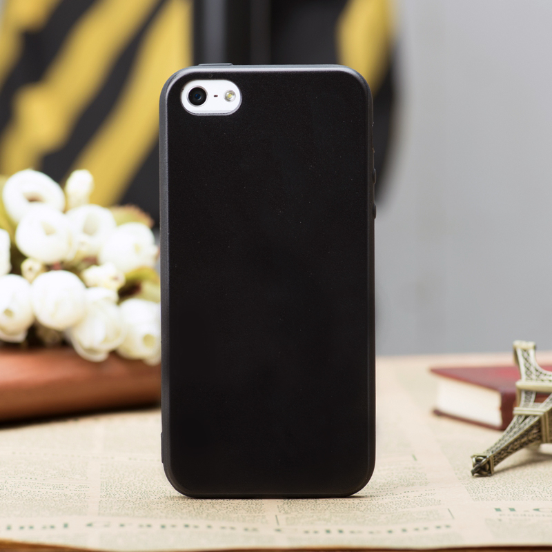 Black TPU Phone Case For iPhone X XS XR XS MAX 5 5S SE 6 6S 7 8 Plus Silicone Soft Matte Cover For iPhone X XS XS Max 8 7 6 6S