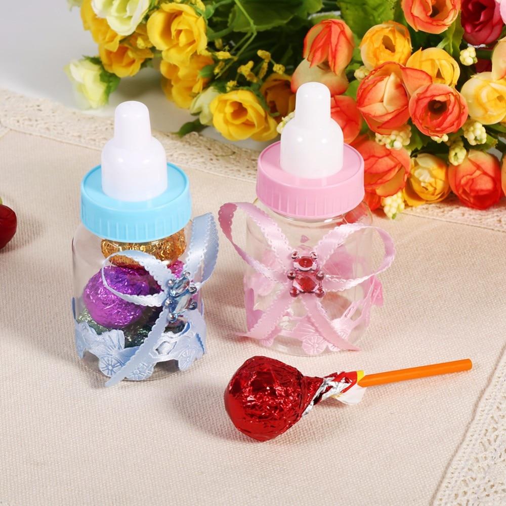 50pcs/set Candy Chocolate Bottles Box Wedding Party Birthday Baby ...