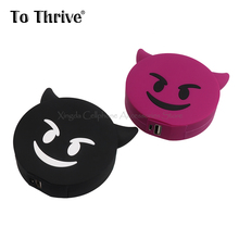 2000mAh Energy Financial institution Moveable Cartoon Satan Emoji Telephone Battery Charger for All Cell Telephone