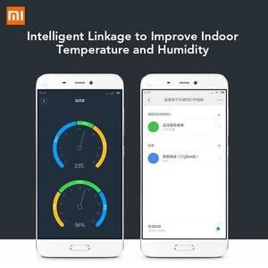 Image 2 - Originale Xiaomi Mi Intelligente della Temperatura e Sensore di Umidità Norma Mijia Casa Intelligente Termometro Sensore WiFi di Controllo Remoto tramite Telefono Mi APP