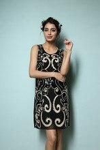 Sleeveless Vintage Tank Dress Art Deco 1920s Style Glam Flapper Sequin Gatsby Charleston Dresses Party dress short glitter