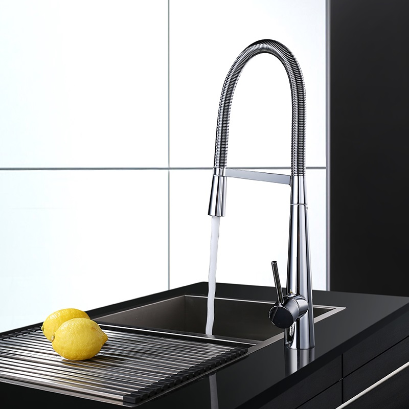 Full copper kitchen faucet, spring faucet, kitchen hot and cold washbasin faucet, стоимость