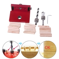 Woodworking   Tool   Drilling Locator Tenon Hole Punchers Positioning Dowelling Jig G03 Drop ship
