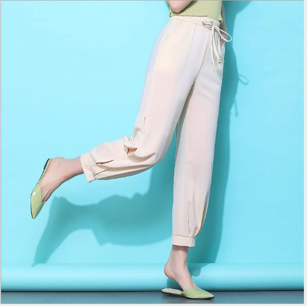 Black Casual Pants Women Harem Striped Pants For Women Pantalon Femme Pantalones Mujer Cintura Alta Trousers Female 3xl 4xl