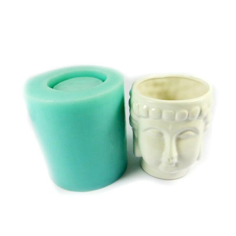 Szilikagél szilikon öntőforma 3d váza öntőformák cement - Konyha, étkező és bár - Fénykép 1