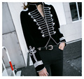 HSC014 High-end customized women coats/heavy Beaded jackets/luxury suit jackets/long sleeved women Small suits/2color/2size