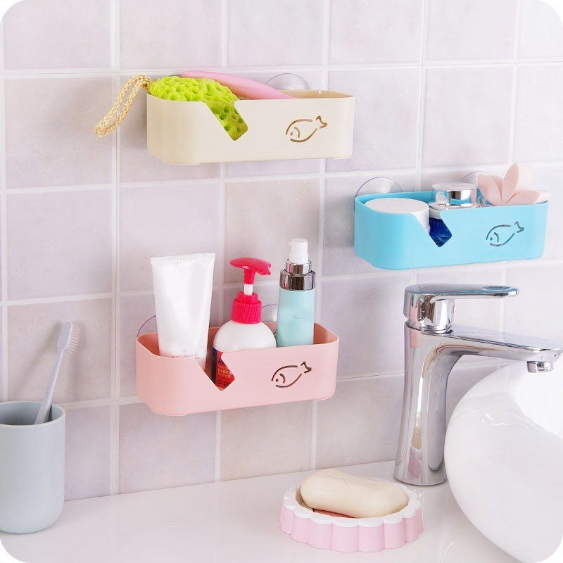 Multifunctional Convenience Plastic House Wall Mount Dish Rack