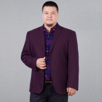 Plus Size 10XL 9XL 8XL 6XL Men Blazer 2017 Spring Autumn Single Breasted Parka Men S