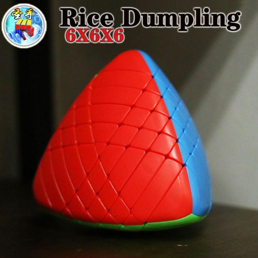 Magic Cube Puzzle Sengso Shengshou 6x6x6 5x5x5 4x4x4 3x3x3 2x2x2 Mastermorphix Rice Dumpling Zongzi Professional Educational Toy