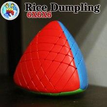 Magische kubus puzzel sengso shengshou 6x6x6 5x5x5 4x4x4 3x3x3 2x2x2 mastermorphix rijstbol zongzi professionele educatief speelgoed