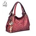 Women Famous Designer Patent Leather Hollow Out Bags Appliques Jacquard Beading Channels Ombre Handbag Floral Shoulder Bag