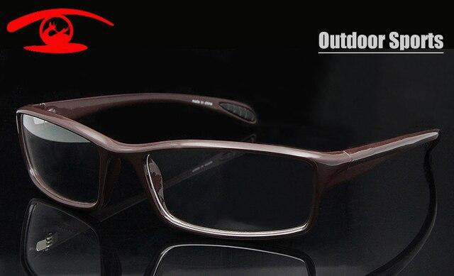 Новый 2015 Спорт На Открытом Воздухе Очки Googles TR90 Гибкие Очки Кадров Мужчин Очки По Рецепту