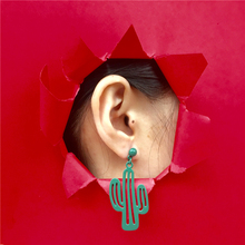 New Wild Cactus Earrings Korean Personality Design Temperament Simple Students Earings Fashion Jewelry