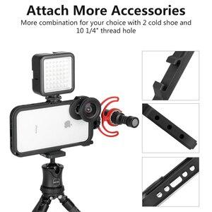 Image 3 - ULANZI Multi functional โทรศัพท์กรงวิดีโอกล้อง Filmmaking RIG สำหรับ iPhone X XS/XS MAX, phonegraphy กรณีวิดีโอขาตั้งกล้อง Mount