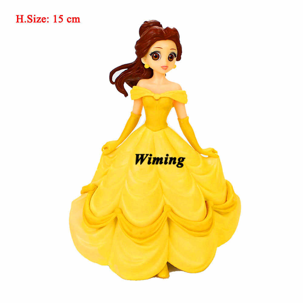princess belle cupcake toppers first birthday party toys ...